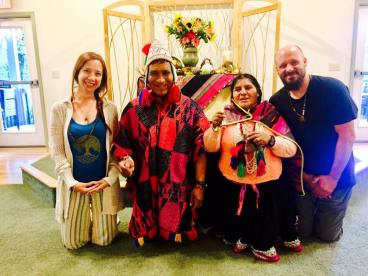 An amazing experience having a Kuya Healing with Shamans, Don Fransisco and Dona Juana from Peru