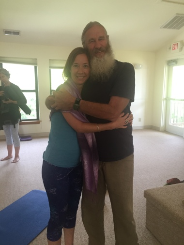 Biff Mithoefer after his Yin Yoga Module at Yogaville