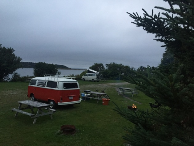 Camping in Nova Scotia